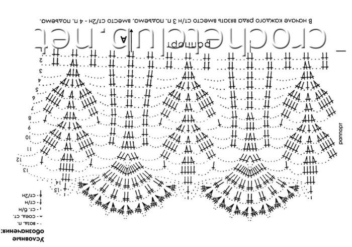 Схема вязания колосок крючком схема и описание