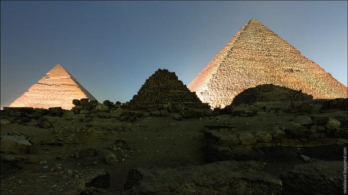 египетские пирамиды фото (700x392, 95Kb)