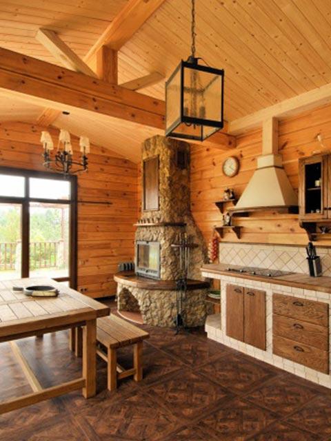 Внутренняя отделка летней кухни фото 3