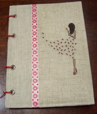 Обложки для блокнотов своими руками с вышивкой