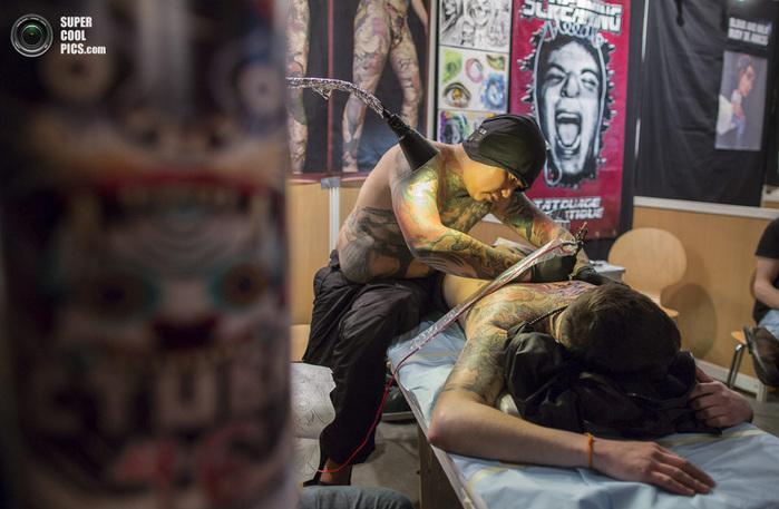 Съезд татуировщиков фото 8 (700x457, 121Kb)