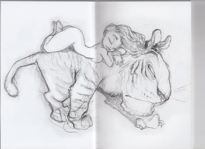 Порно рисунки карандашом 188