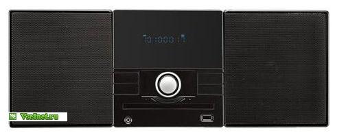 Микросистема DVD Mystery MMK-710U USB черная (491x197, 20Kb)