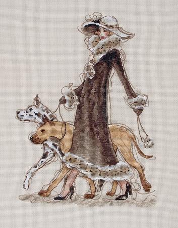 дама с собачкой и другие схемы вышивки (2) (353x450, 145Kb)