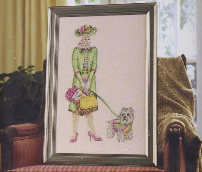 дама с собачкой и другие схемы вышивки (22) (700x598, 295Kb)