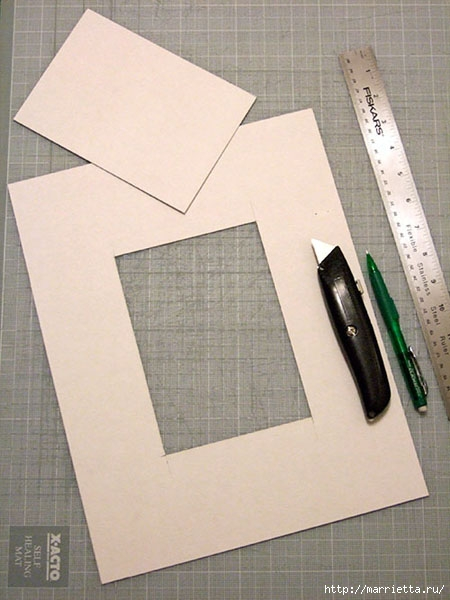как сделать рамку для картины своими руками (3) (450x600, 154Kb)