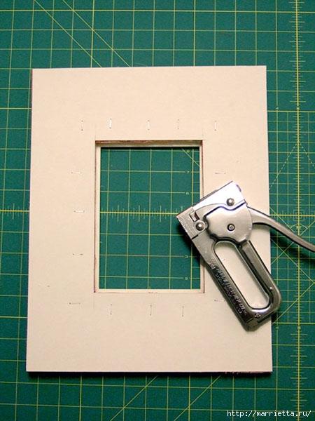 Рамка из обоев своими руками фото