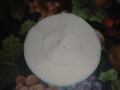 Ароматные кофейные подсолнухи из ткани. Мастер-класс (9) (400x300, 19Kb)