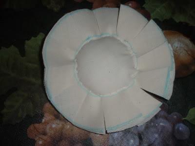 Ароматные кофейные подсолнухи из ткани. Мастер-класс (11) (400x300, 21Kb)