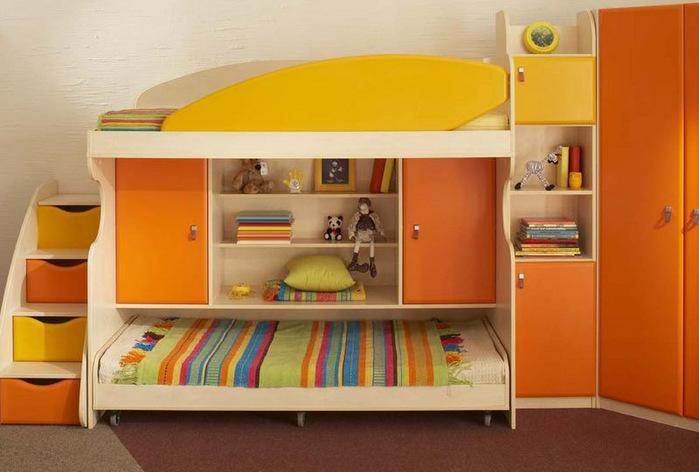 кровать-чердак двухярусная кровать (7) (700x472, 95Kb)