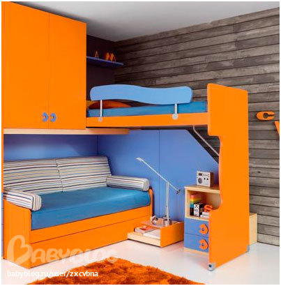 кровать-чердак двухярусная кровать (41) (403x410, 44Kb)