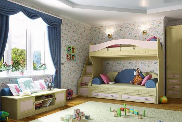 кровать-чердак двухярусная кровать (44) (700x472, 59Kb)