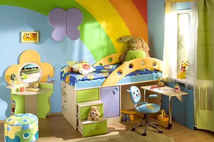 кровать-чердак двухярусная кровать (46) (700x466, 110Kb)