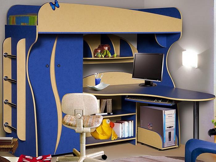 кровать-чердак двухярусная кровать (50) (700x525, 115Kb)