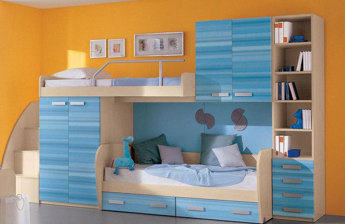 кровать-чердак двухярусная кровать (51) (700x455, 65Kb)