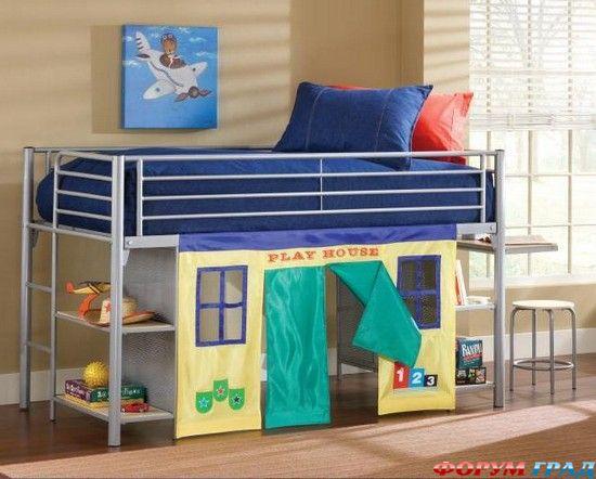 кровать-чердак двухярусная кровать (59) (550x442, 47Kb)