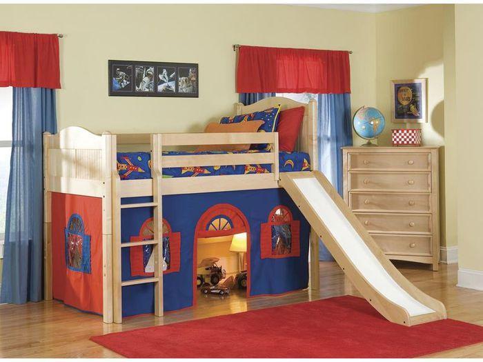 кровать-чердак двухярусная кровать (67) (700x525, 55Kb)