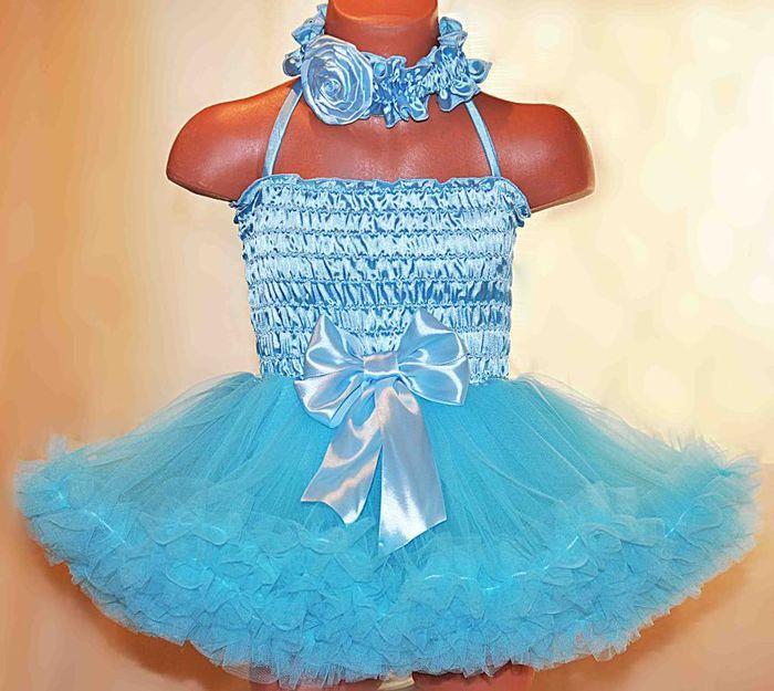 65Детские пышные платье своими руками