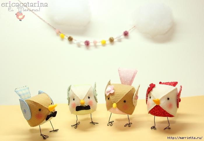 птички из фетра (7) (700x483, 161Kb)