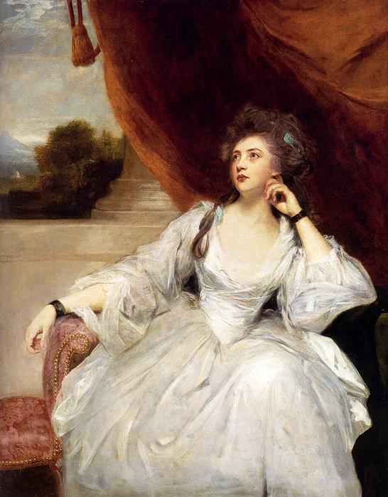 Portrait Of Mrs Stanhope (546x700, 551Kb)