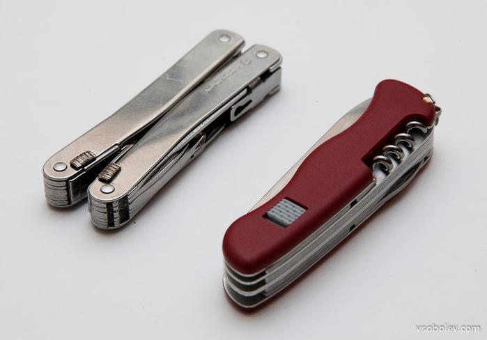 Швейцарский ножик в подарок.