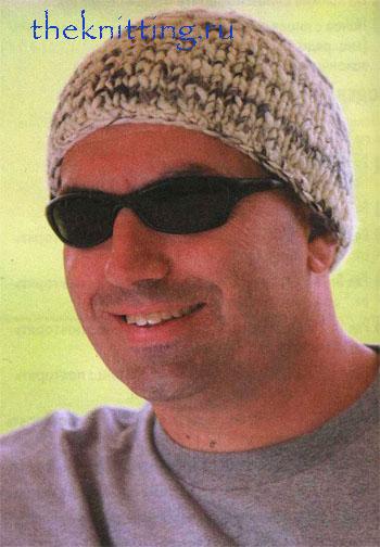 вязаная мужская шапка    /5156954_vyazanie_shapok_spicami1 (350x504, 77Kb)