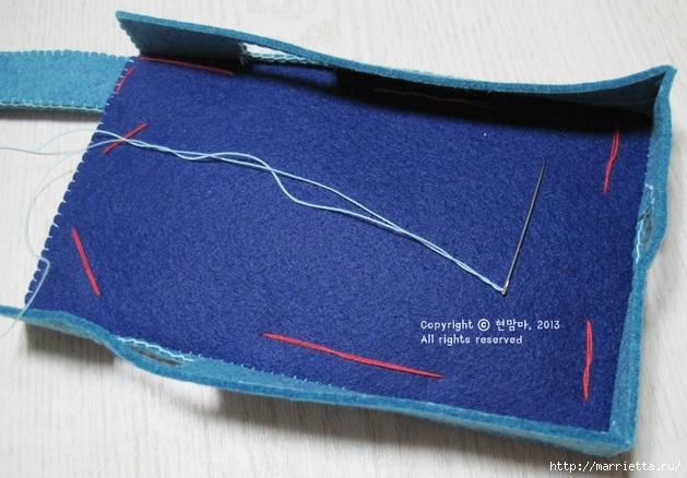 Как сшить чехол-сумочку для мобильного телефона (18) (629x438, 176Kb)