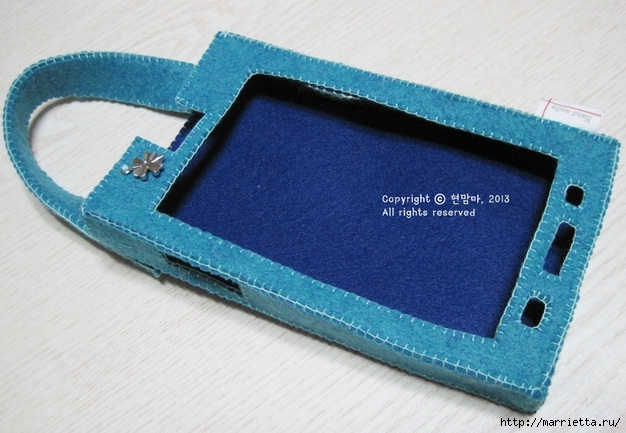 Как сшить чехол-сумочку для мобильного телефона (20) (626x433, 169Kb)