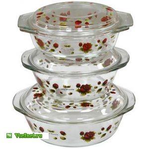 Набор посуды для СВЧ VALENCIA S-301D (300x300, 25Kb)