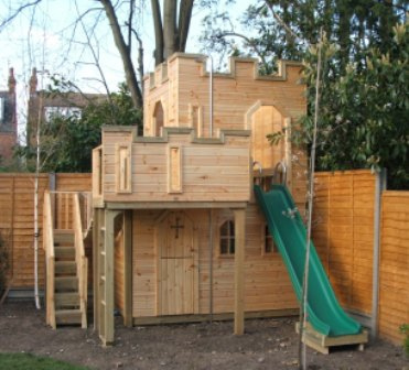 Woodwork playhouse castle plans pdf plans for How to make a playhouse out of wood