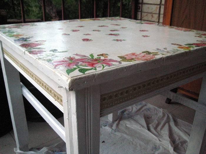 Реставрация старого стола своими руками мастер класс