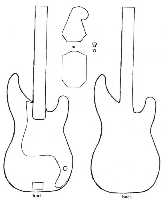 гитара подушка (2) (578x700, 136Kb)