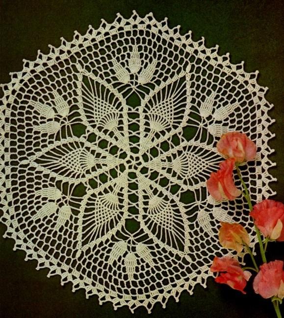 Салфеточка-цветок