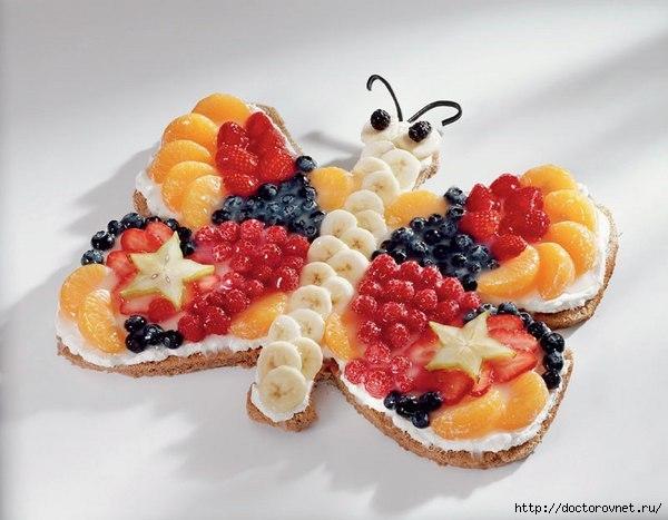 фруктовая бабочка (600x467, 131Kb)