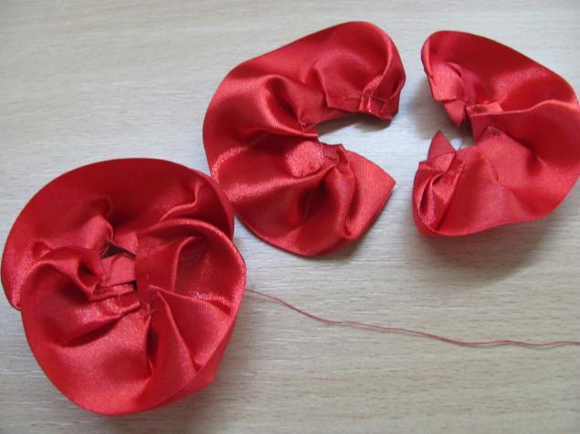 """手工缎带教程:""""罂粟花的花环""""(大师班) - maomao - 我随心动"""