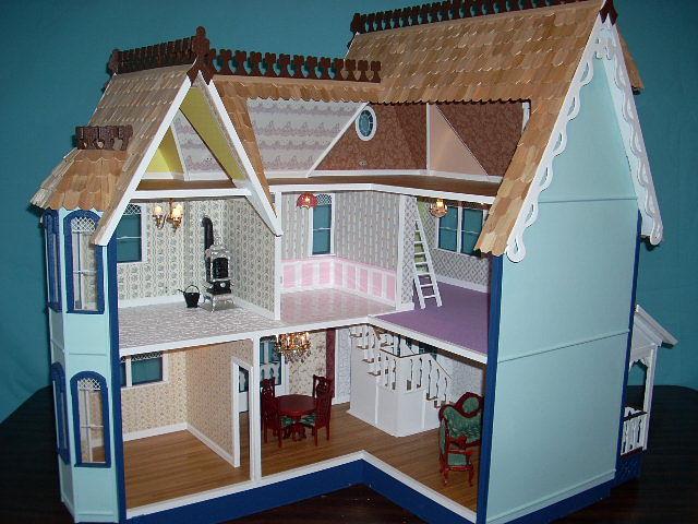 Шикарный кукольный домик! Но..