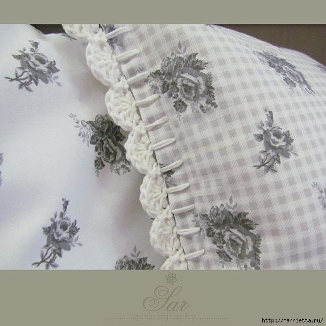 обвязки края полотенца