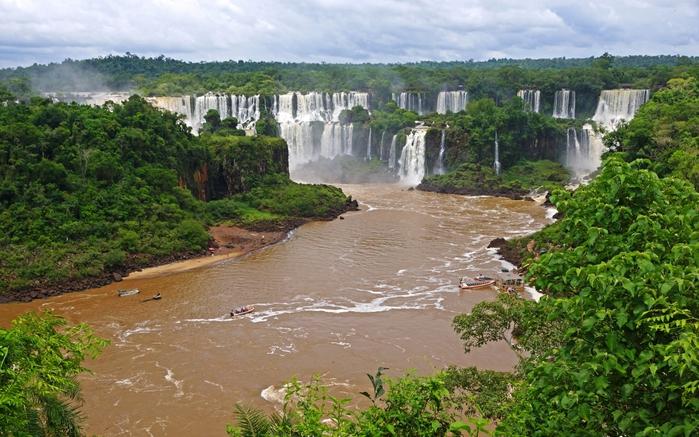 Координаты водопада виктория