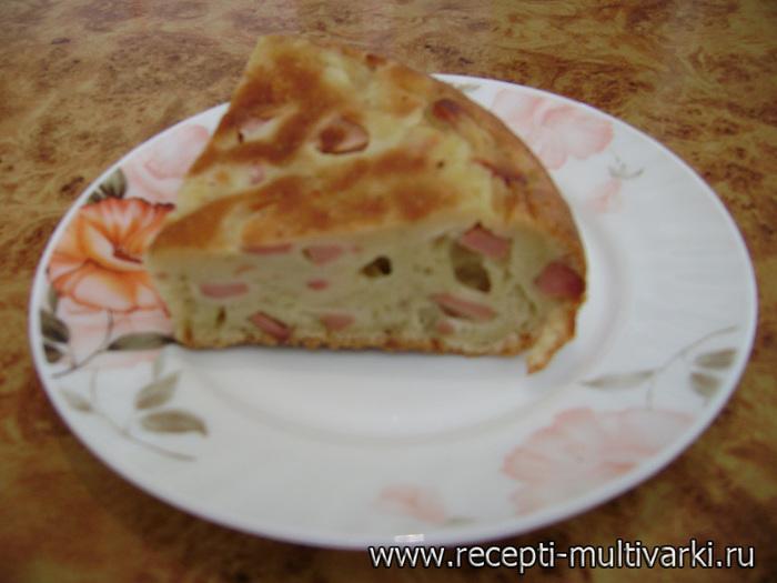 рецепт пиццы в домашних условиях с ветчиной и