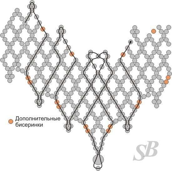 Колье из бисера - Самое интересное в блогах - LiveInternet. схема электрооборудования заз 968м.