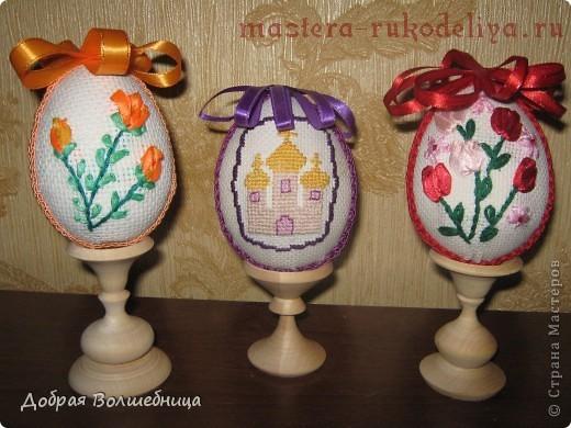 Пасхальные яйца из джута своими руками мастер класс