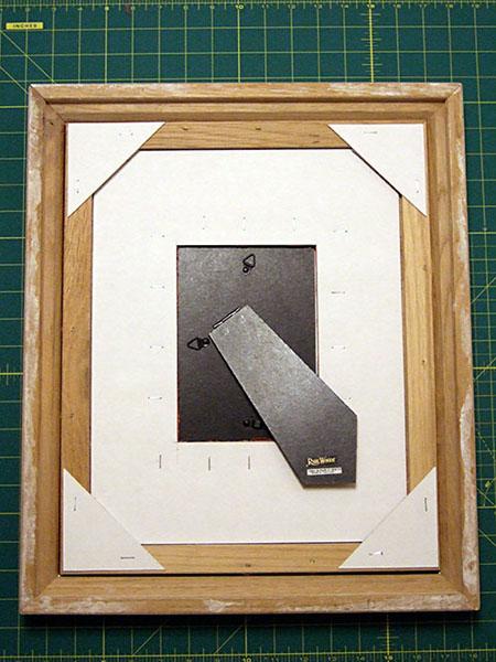 Рамка для картины из картона своими руками