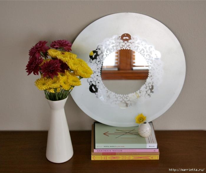 Декорируем зеркало и украшаем интерьер (5) (700x589, 266Kb)