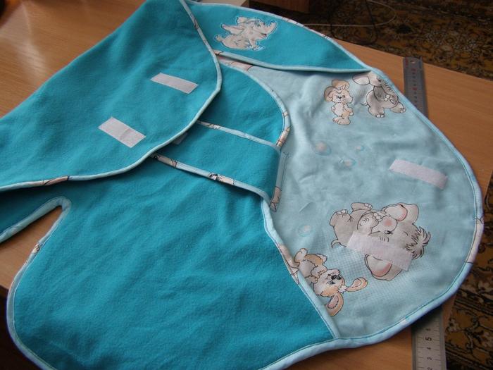 Конверт одеяло для новорожденного своими руками