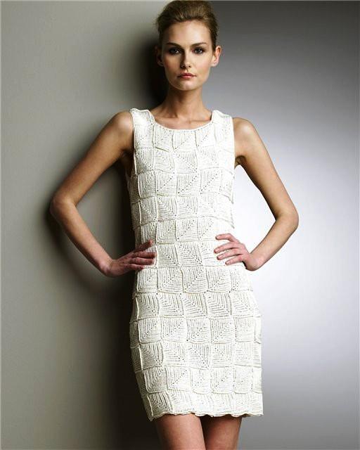 Платье в стиле пэчворк.