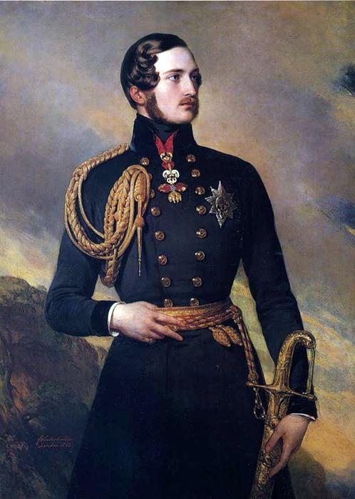 Франц Винтельхальтер. Портрет принца Альберта, 1842 (498x700, 96Kb)
