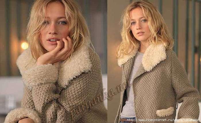Вязание спицами курток модели