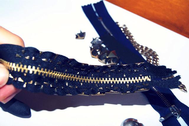 браслеты из молний с шипами (4) (640x428, 86Kb)