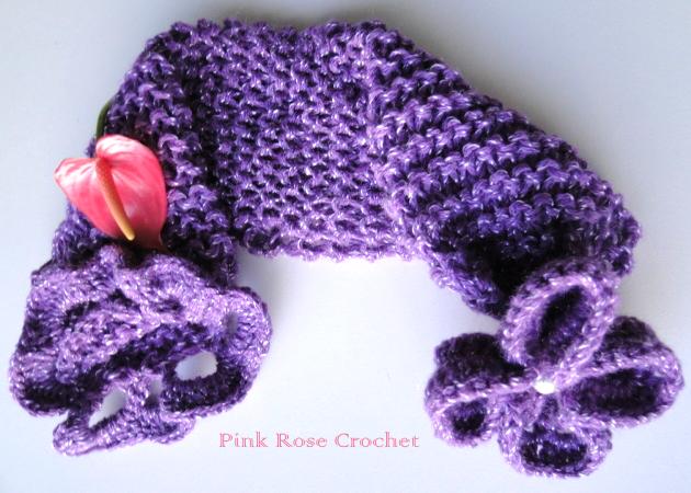 Симпатичный шарфик с цветком (8) (630x450, 602Kb)