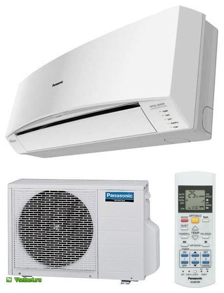 Кондиционер - сплит-система бытовая Panasonic CS-E9MKDW-CU-E9MKD, инверторный, R-410 (459x599, 52Kb)